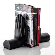 Aparador de Livros Hands Preto