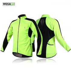 Windproof Cycling Jackets Winter Jerseys Thermal Fleece Long Sleeve Coats Unisex