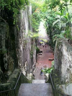 Queens Stairs.  Bahamas