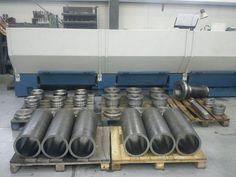 Przygotowanie siłowników hydraulicznych na indywidualne zamówienie.