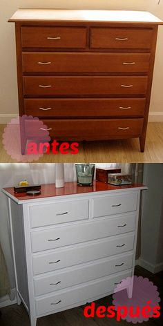 DIY Antes y Después '13: La cómoda de Pángala : x4duros.com