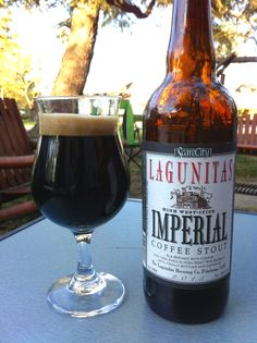 Lagunitas Brewing 'High West-ified' Imperial Coffee Stout
