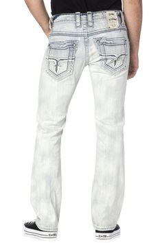Rock Revival Official Website - Shop for the latest Rock Revival jeans, shorts, and jackets Affliction Clothing, Rock And Roll Jeans, Estilo Denim, Designer Clothes For Men, Designer Pants, Straight Cut Jeans, Rock Revival Jeans, Denim And Supply, Jeans Brands