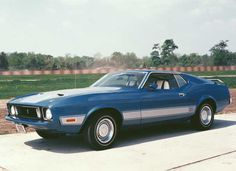 1973 Ford Mustang.
