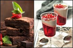5 Καλοκαιρινά γλυκά χωρίς μίξερ!   ediva.gr Dessert Recipes, Desserts, Food To Make, Recipies, Food And Drink, Pudding, Sweets, Cakes, Tailgate Desserts