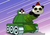 Rocket Panda Xmas Cookie Quest