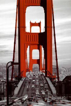 Ponte Golden Gate, São Francisco Pôsters na AllPosters.com.br