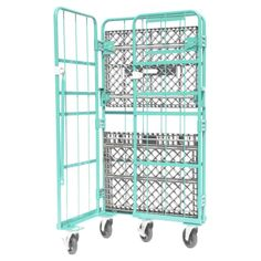 Roll Container Roll Cage, Steel Material, Container, Storage, Purse Storage, Larger, Store