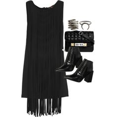 """""""Untitled #9577"""" by theleatherlook on Polyvore"""