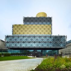 "Library of Birmingham by Mecanoo ""Libraries are the most important public buildings"" - Francine Houben"
