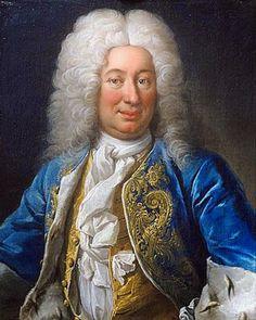 Martin van Meytens,    King Fredrick of Sweden     c1730 Adele, 1700-luku, Peruukit, Naamiaispuvut, Tanska, Norja, Alankomaat, Luxemburg, Kuvat