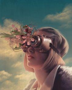 Aykut Aydoğdu fantastiche illustrazioni surreali in digital art