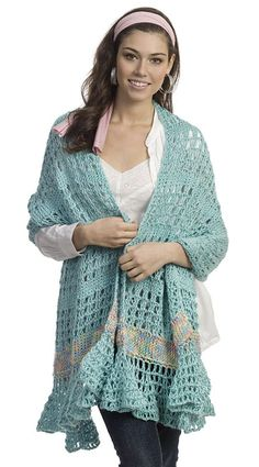 Ravelry: Tunisian Wrap by Marty Miller