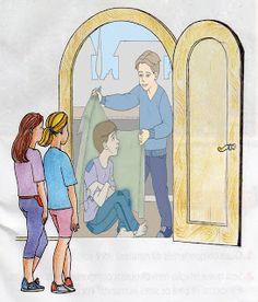 Evangelização Espírita Infantil: Imagens - Porta Larga e Porta Estreita