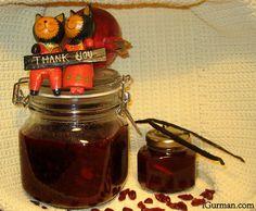 Brusnicová omáčka s granátovým jablkom