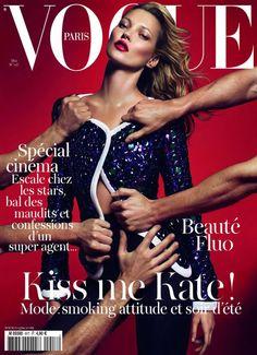VogueParis May 2011, Kate Moss