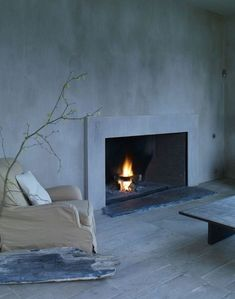 LOVE mineral-based natural lime wash is environmentally friendly...Axel Vervoordt Lime Wash Walls, Remodelista