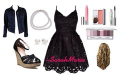 Night out;)  I wore something like this to a dance. -polyvore