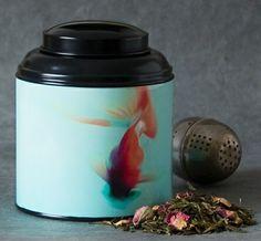 Boîte à thé coupole Dancing louis illustrée par Sophie Thouvenin #tea #thé