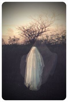 It's the Same Dream That Lasts All Night II - Print by Mon Petite Fantome Paranormal, Sheet Ghost, Ghost Costume Sheet, Ghost Costumes, Creepy, Scary, Ghost Photography, Portrait Photography, Niklas