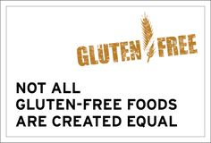 It's crucial to remember that a healthy product isn't just determined by what is not in it- it's so much more important to check out what IS in it! Not all gluten-free foods are created equal. Gluten Free Recipes, Free Food, Equality, Foods, Create, Healthy, Check, Social Equality, Food Food