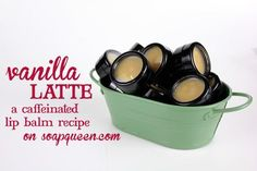 Vanilla Latte Lip Balm; I'm pretty sure I'm attracted to this one because of the coffee butter!