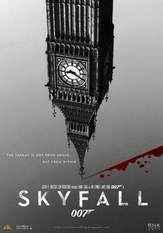 New Movie Poster Print: Skyfall James Bond / Poster Marvel, The Reader, Cool Poster Designs, Poster Design Inspiration, Design Ideas, James Bond Movie Posters, James Bond Movies, American Psycho, Minimal Movie Posters