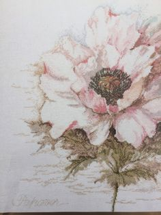 Crewel Embroidery Kits, Embroidery Designs, Needlepoint Canvases, Peony Flower, Upcycled Vintage, Pink Peonies, Cherry Blossom, Poppies, Cross Stitch