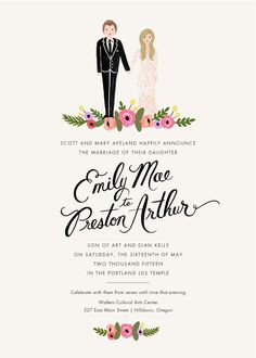 Rifle Paper Co. Wedding Invitations