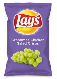 Wouldn't Grandmas Chicken Salad Crisps be yummy as a chip? Lay's Do Us A Flavor is back, and the search is on for the yummiest flavor idea. Create a flavor, choose a chip and you could win $1 million! https://www.dousaflavor.com See Rules.