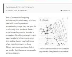 Rob Bircher looks at mind maps Exam Revision, Revision Tips, Mind Maps, Psychology, Mindfulness, How To Plan, Education, Psicologia, Onderwijs