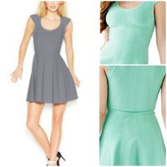 ASK‼️ Guess Bandage Dress Beautiful garment. Wonderful fabric. Breathable, moveable and comfortable material. Side zipper under left arm for easy wear. Perfect for a date night in the medium gray. Guess Dresses