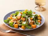 Roasted Butternut Squash Salad with Warm Cider Vinaigrette Recipe this is SO GOOD!