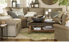 Pottery barn - Pearce sofas & sectionals!