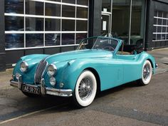 I've never had one of these, but I wouldn't pass up the opportunity to own this 1956 Jaguar XK 140 SE Drophead Coupe!