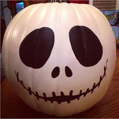He's a classic Halloween character now, and a pumpkin is the perfect canvas for his head. - WomansDay.com