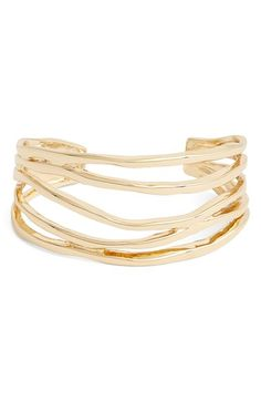 Nordstrom 'Wavy Lines' Cuff available at #Nordstrom