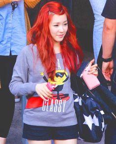 ⌜티파니⌟ — Red hair ❤️