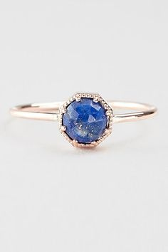 30 Dream Engagement Rings For The Anti-Diamond Girl #refinery29  http://www.refinery29.com/engagement-rings-diamond-alternatives#slide30