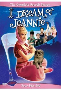 I Dream of Jeannie 1965-1970 A United States astronaut finds his life vastly complicated when he stumbles on to a bottle containing a female genie.The show starred Barbara Eden as a 2,000-year-old genie, and Larry Hagman as an astronaut who becomes her master, with whom she falls in love and eventually marries.