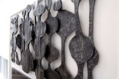 african wall sculpture art | Wall relief for a collector of NativeAmerican art. Forged of steel and ...