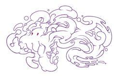 My new Bubble Gum Monter's vectorized illustration!