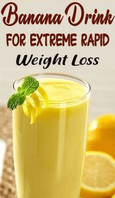 One of the best ways to lose weight fast is by consuming smoothies. Here is a powerful banana smoothie recipe to lose weight fast at home. Diet Food To Lose Weight, Weight Loss Meals, Weight Loss Drinks, Weight Loss Smoothies, How To Lose Weight Fast, Healthy Weight, Weight Gain, Lose Fat, Rapid Weight Loss