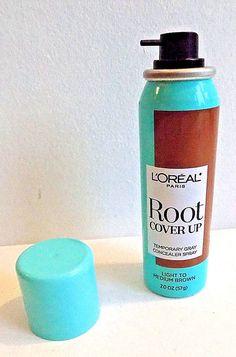 L'Oréal® Paris Light to Medium Brown Root Cover Up Spray 2oz. #LOralParis