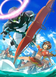 Crunchyroll - Japan's Most Popular Fan Art: Bonus Round! Gargantia on the Verdurous Planet