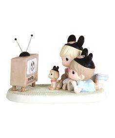 Kids Watching TV Figurine #zulily #zulilyfinds