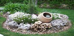 jardins com pedras grandes - Pesquisa Google