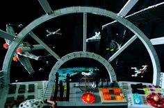 LEGO Millennium Falcon cockpit