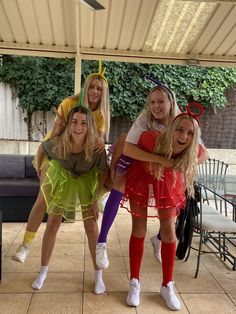 4 People Halloween Costumes, Most Creative Halloween Costumes, Trendy Halloween, Theme Halloween, Cute Costumes, Group Costumes, Costume Halloween, Halloween Outfits, Friend Costumes