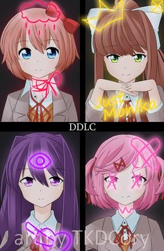 Doki Doki Literature Club i know its a game but it looks like anime XD Anime Doki Doki, Sarada Uchiha, Literature Club, Leiden, Yandere, Game Art, Anime Characters, Cool Art, Video Games